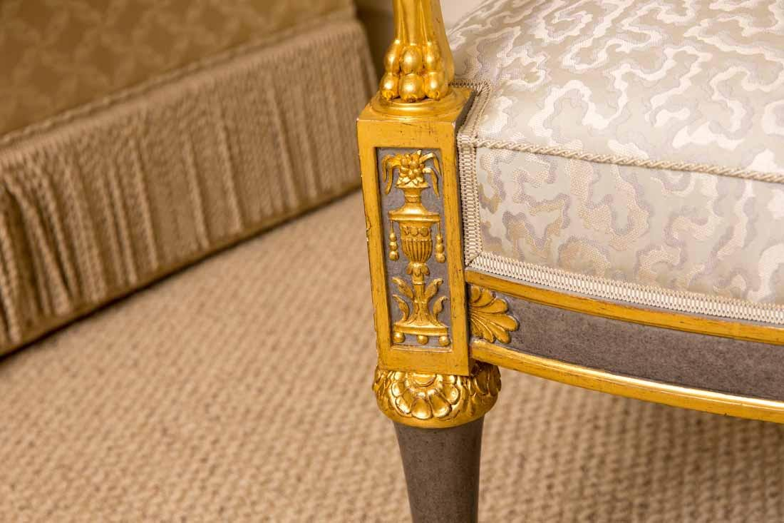 Pair of Russian Style Chairs - 8
