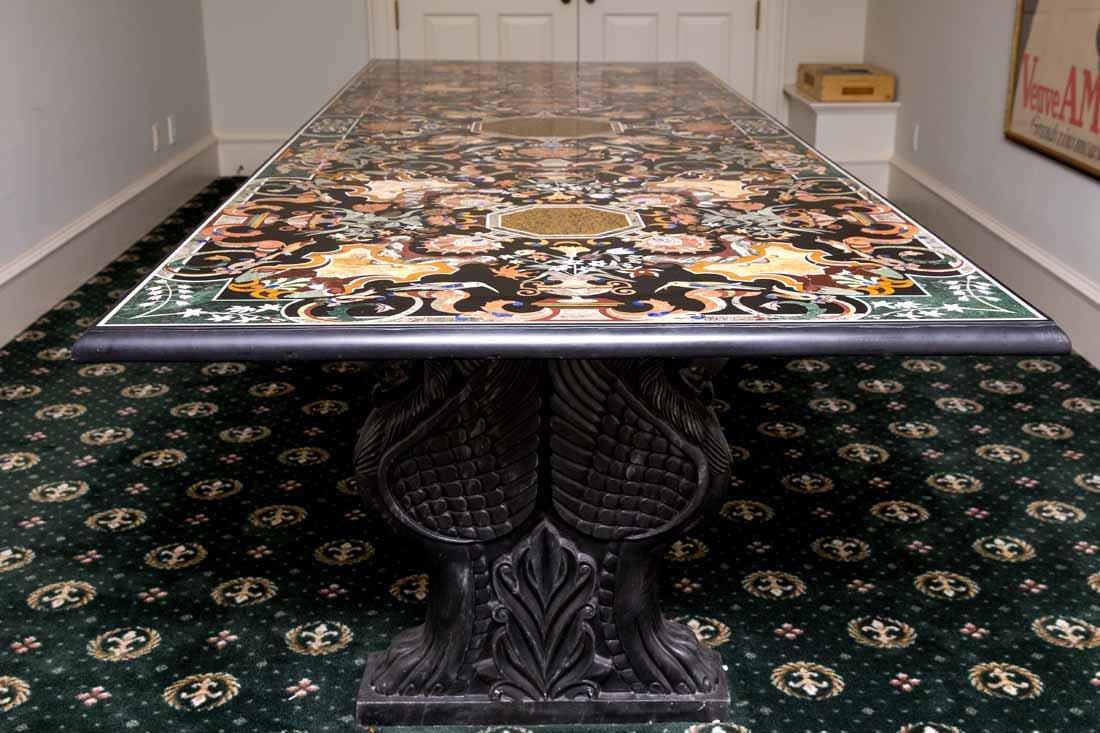 Pietra Dura Dining Table - 2