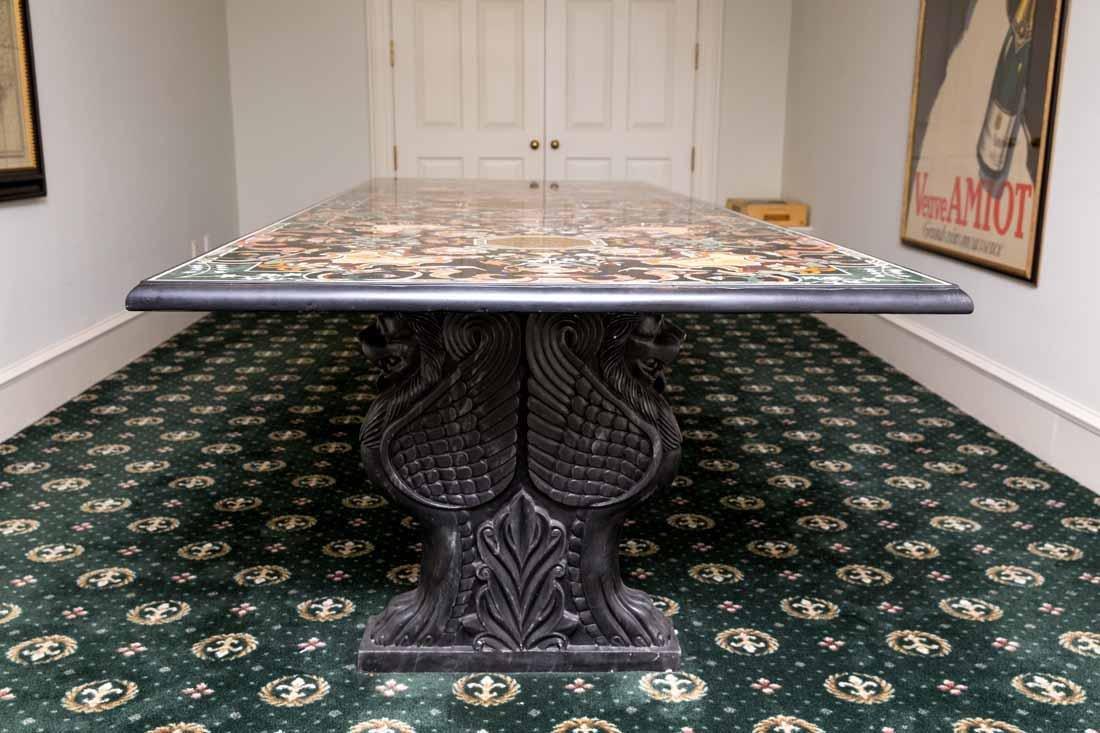 Pietra Dura Dining Table - 3