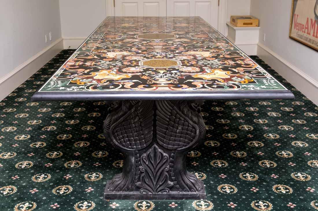 Pietra Dura Dining Table - 4