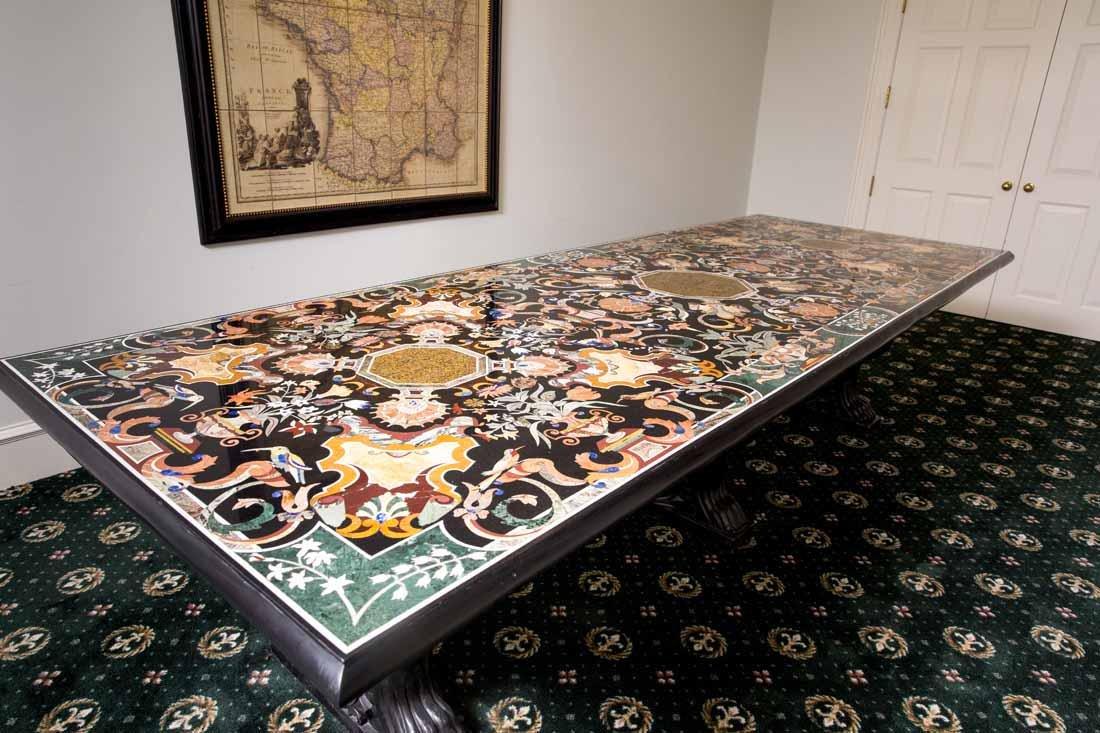 Pietra Dura Dining Table - 8