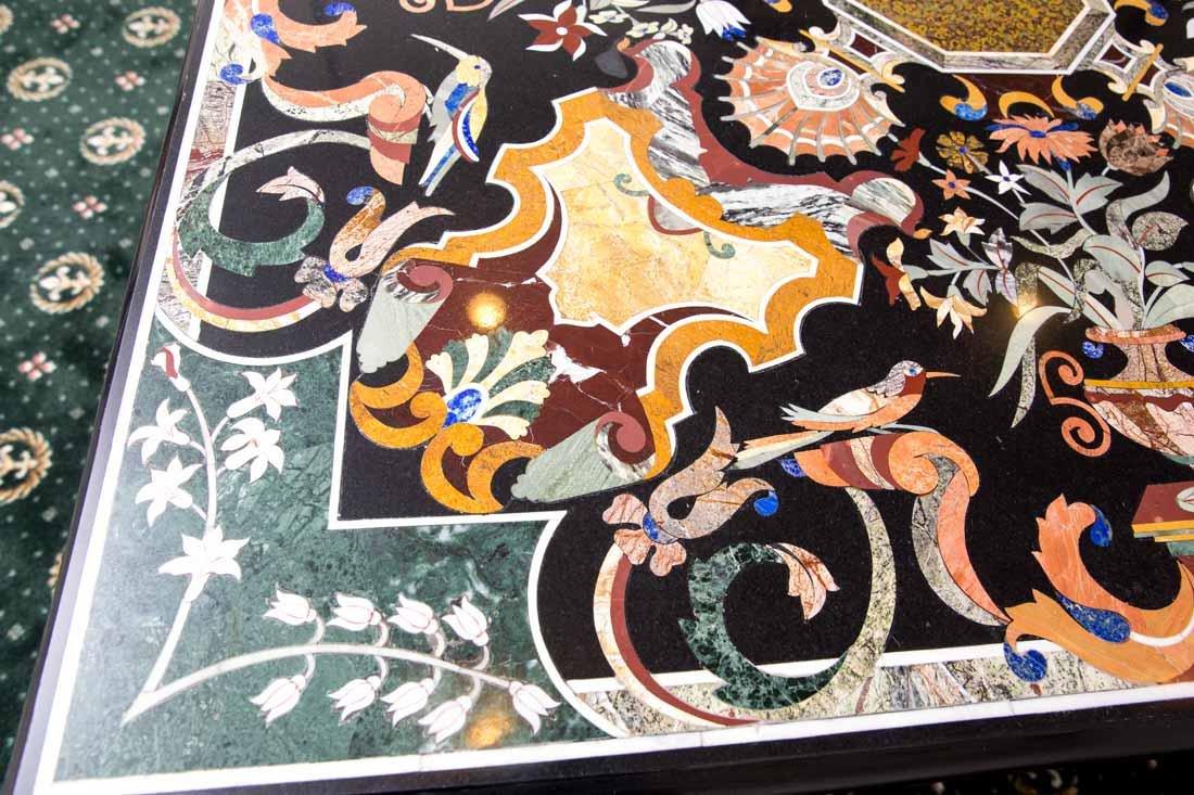 Pietra Dura Dining Table - 9
