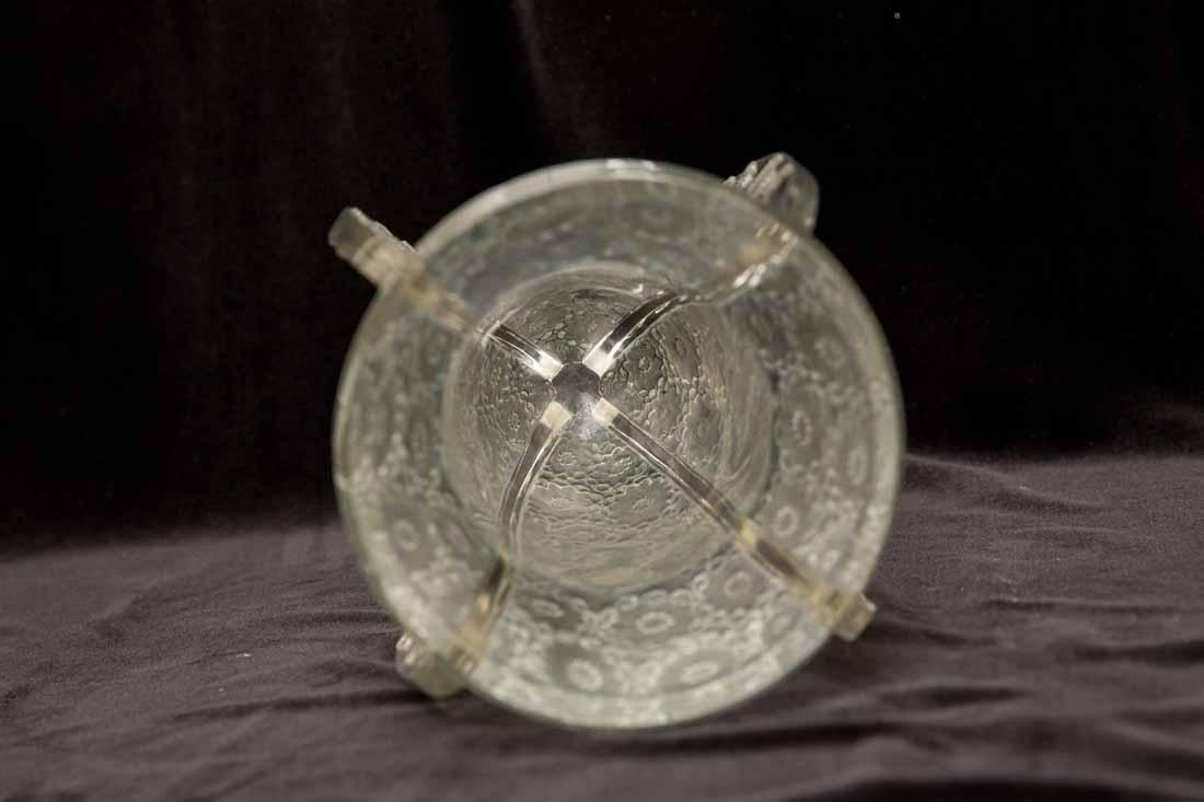"""Lalique """"Papillon""""  Vase"""" - 10"""