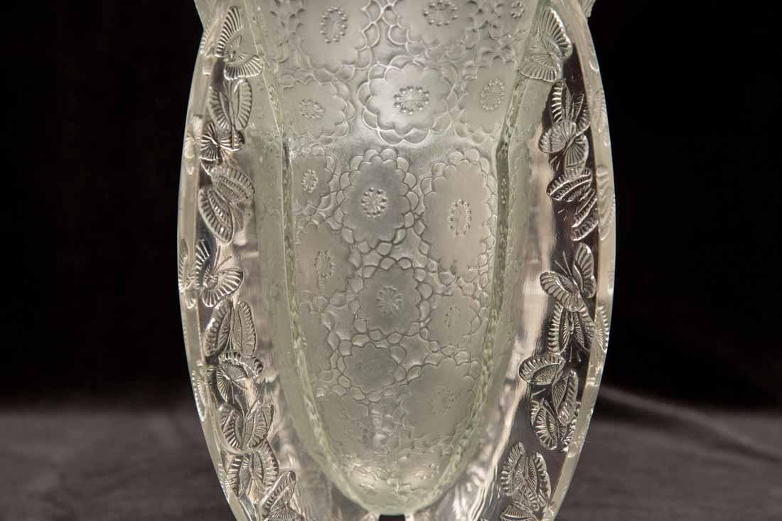 """Lalique """"Papillon""""  Vase"""" - 3"""