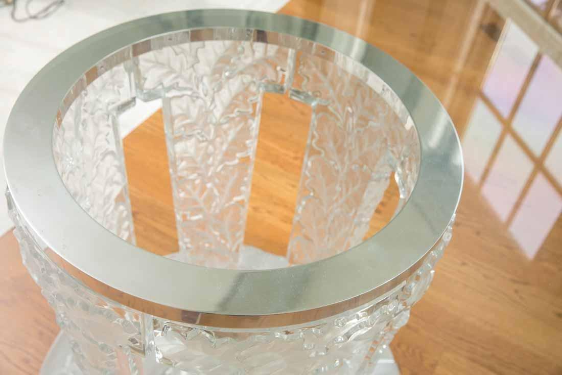 "Lalique "" Chene""  Table - 9"