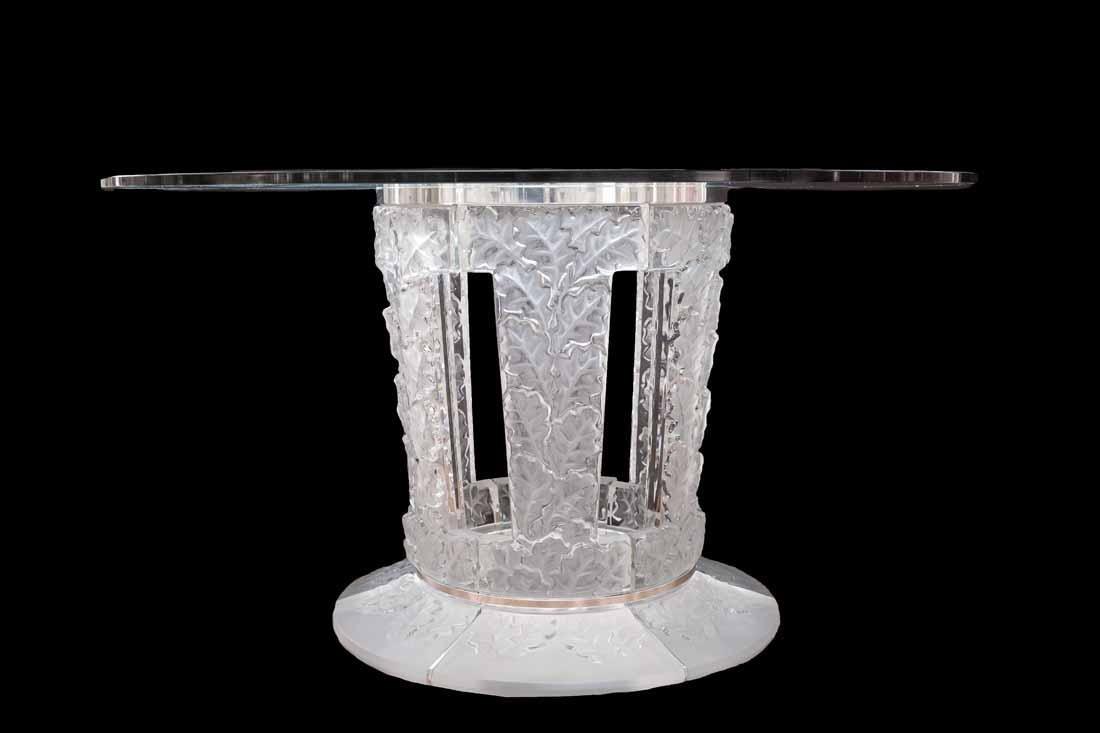 "Lalique "" Chene""  Table"