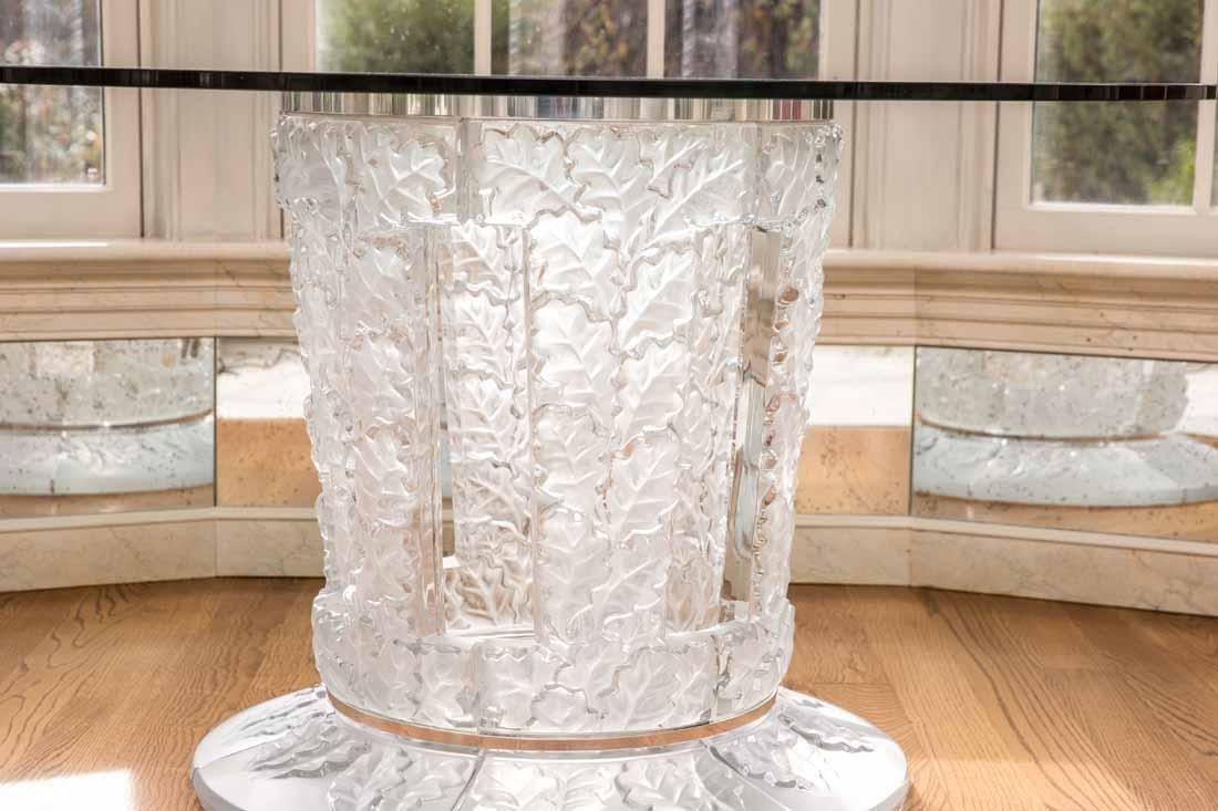 "Lalique "" Chene""  Table - 2"