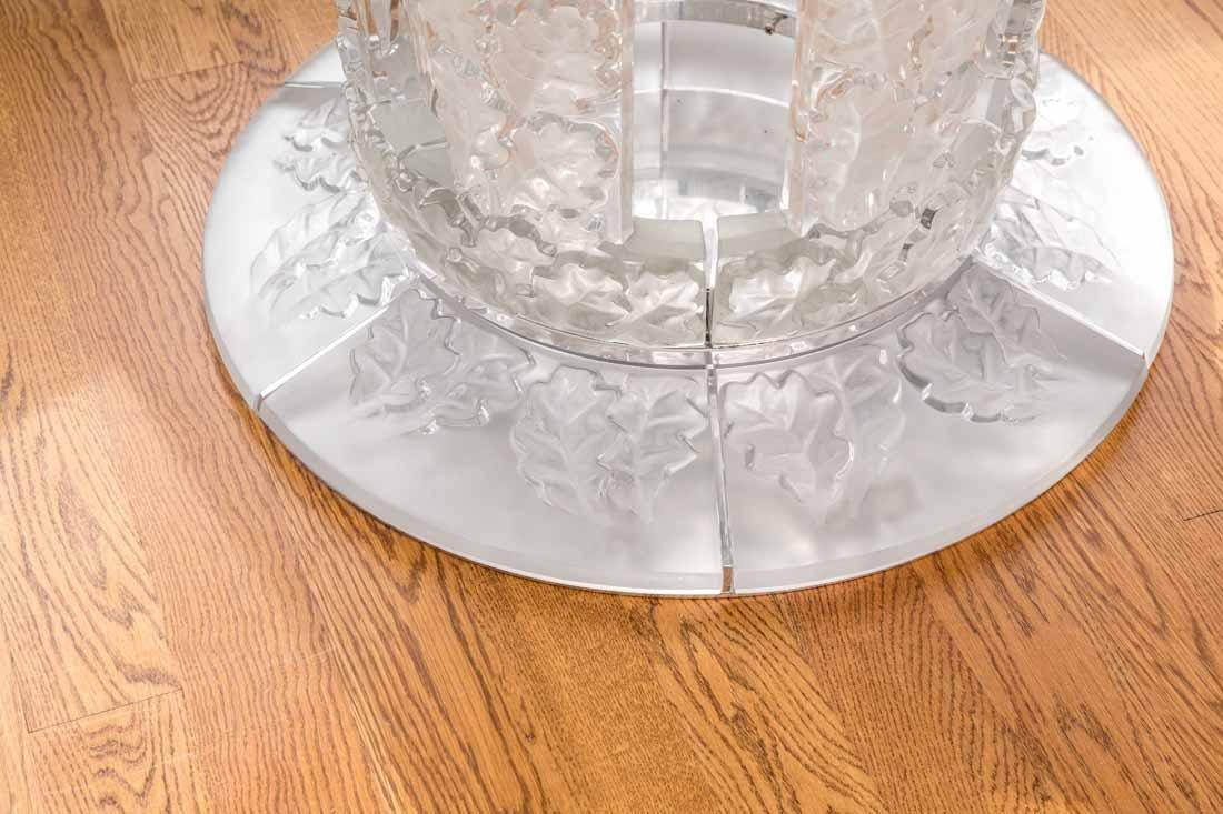 "Lalique "" Chene""  Table - 3"
