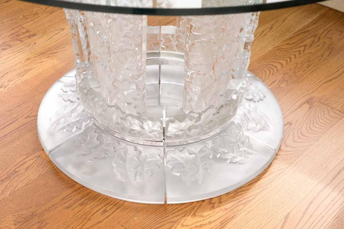 "Lalique "" Chene""  Table - 4"