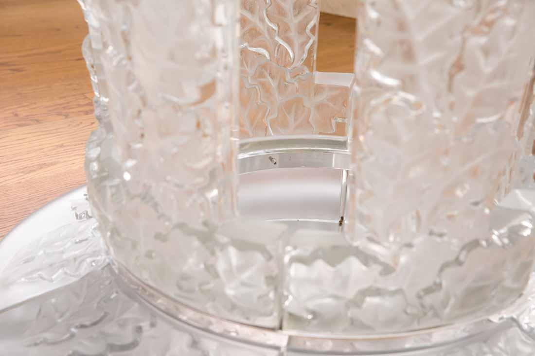 "Lalique "" Chene""  Table - 5"