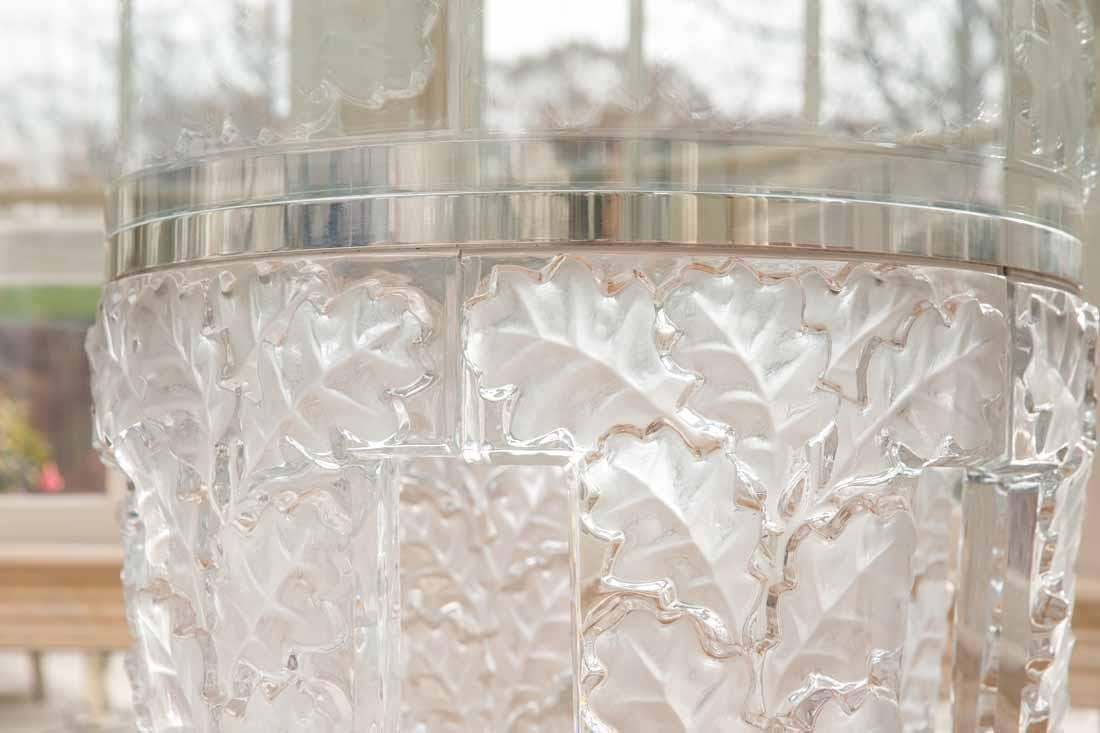 "Lalique "" Chene""  Table - 6"