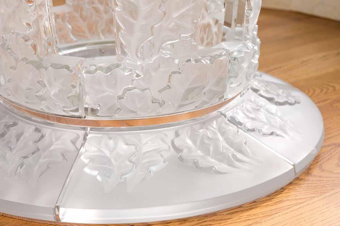 "Lalique "" Chene""  Table - 8"