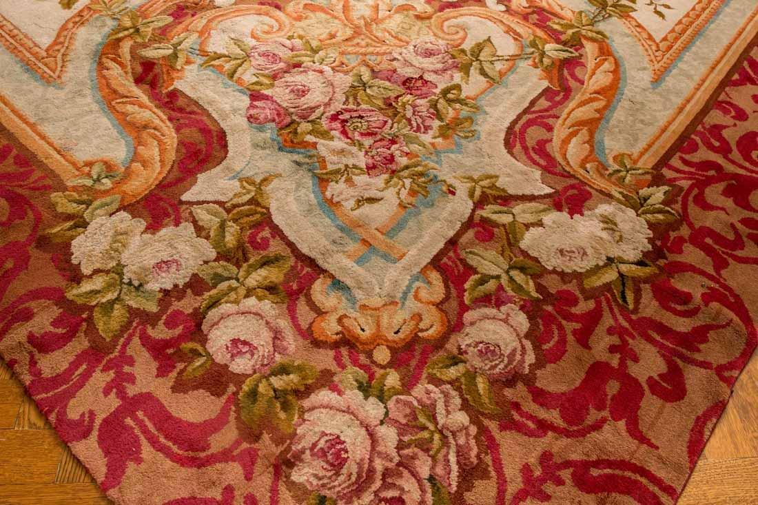 French Savonnerie Carpet - 7