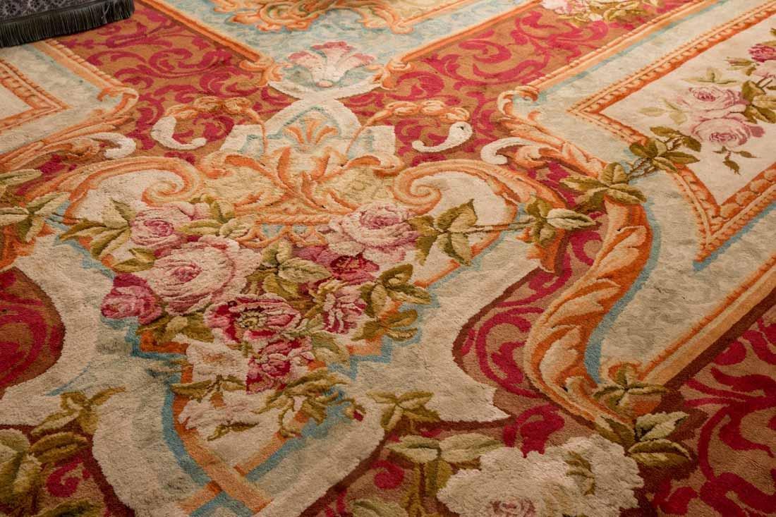 French Savonnerie Carpet - 8
