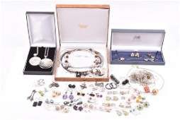 A group of costume jewellery items including of forty