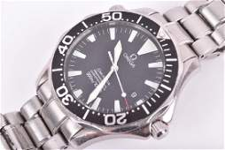 An Omega Seamaster Professional stainless steel