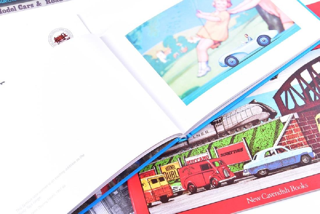 A collection of model car and train reference books  to - 4