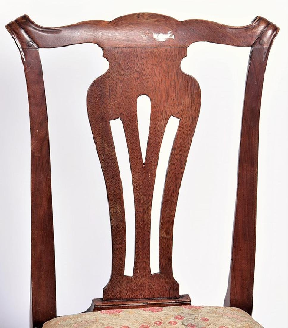 A late Victorian carved walnut corner chair  in the - 5