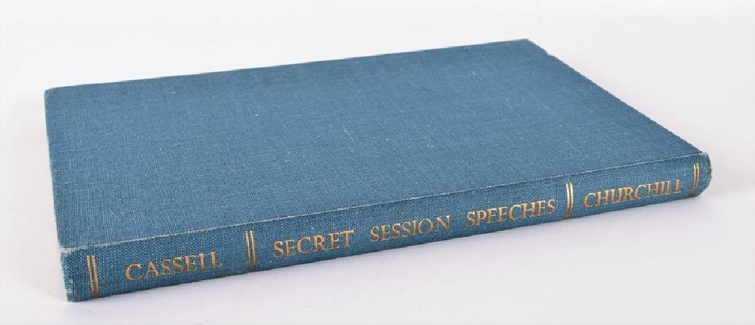 "Cassell ""Secret Session Speeches"" by Winston Churchill, - 10"
