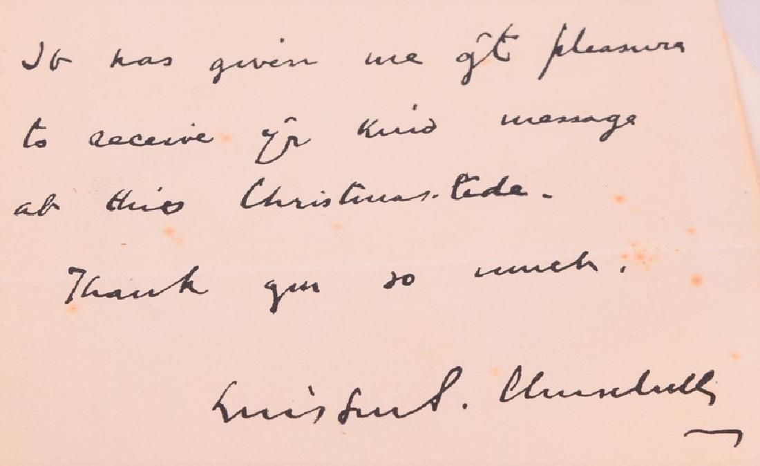 "Cassell ""Secret Session Speeches"" by Winston Churchill, - 4"