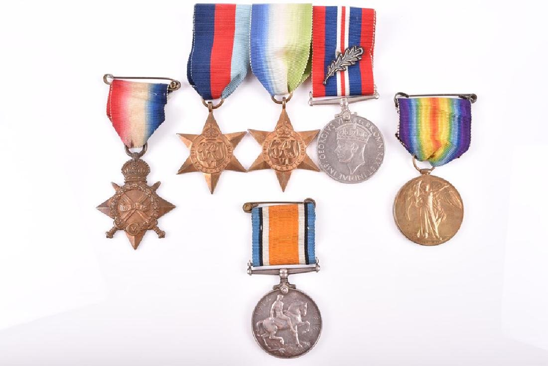 A WWI Medal trio to D6319 Corporal J ClarkArmy