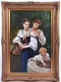 20th century modern reproduction painting in the style