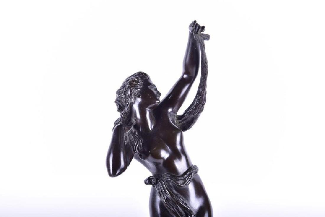 A late 19th/early 20th century patinated bronze - 10