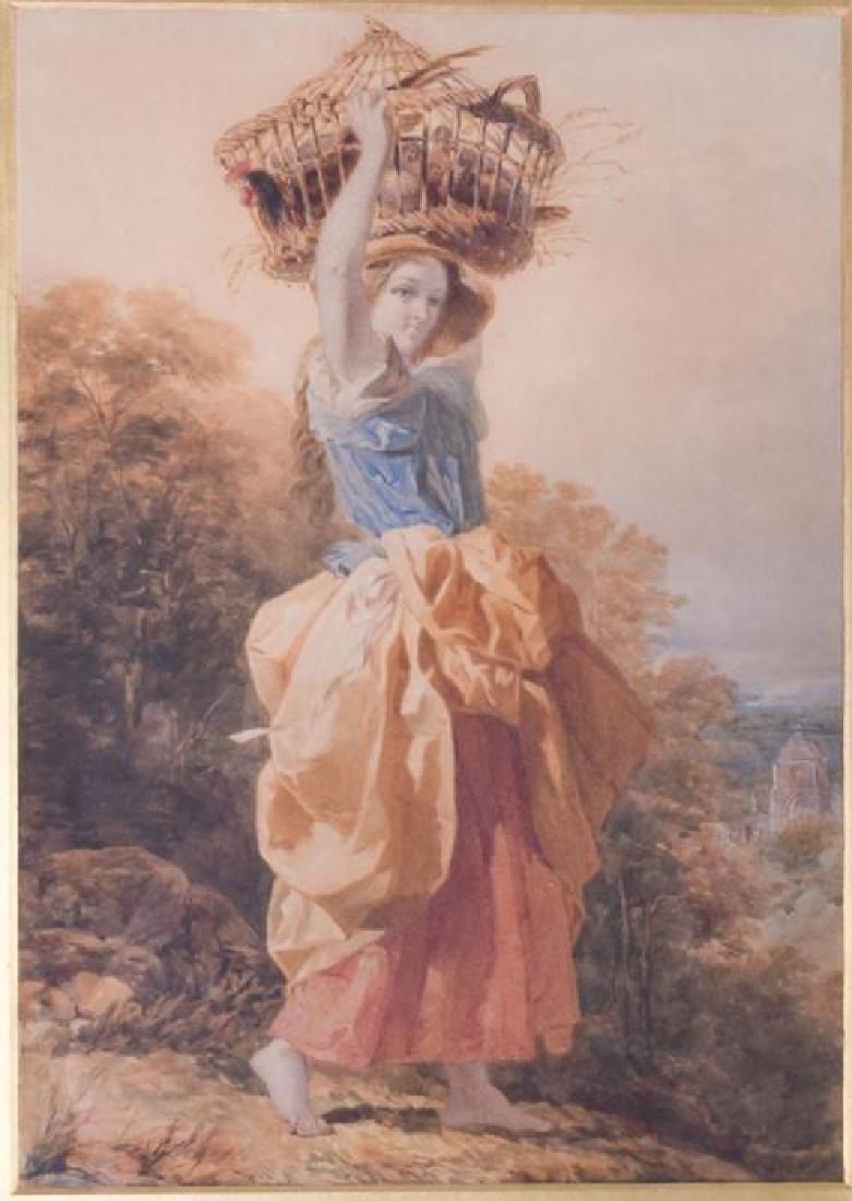Joshua Cristall RA (1767-1847) British  'Going to