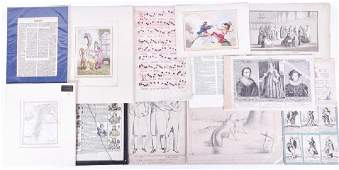 A collection of 19th century and earlier religious and