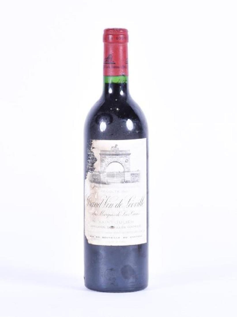A bottle of Grand vin de Leoville 1982  'Saint Julien',