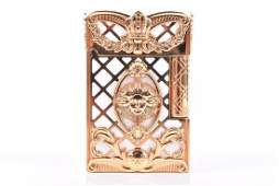 A Dupont Versailles Gatsby limited edition gas lighter