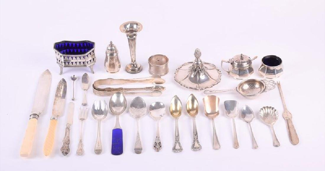 A miscellaneous collection of silver  Birmingham,