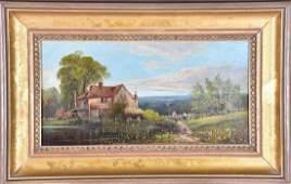 "Attributed to R. Allan, 19th century, British ""Dorney"
