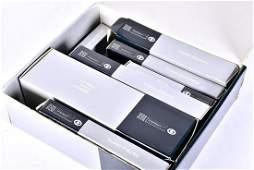 An Italian Greggio suite of 800 standard silver