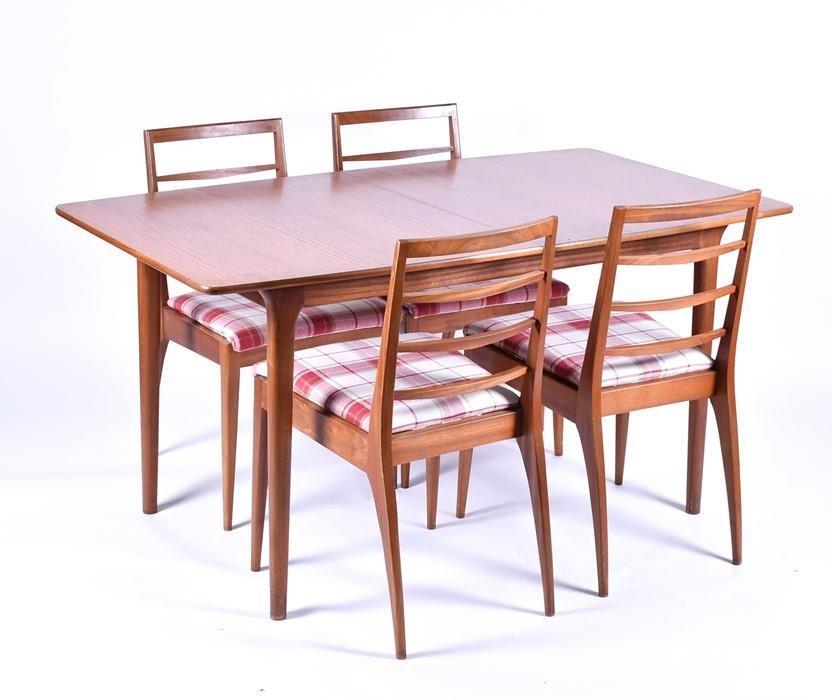 A 20th century Macintosh teak dining suite  c.1972,