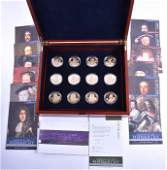 A Royal Mint History of the Monarchy silver proof