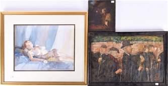 Wilfred Glyndon May (1922-2007) British 'Janet'