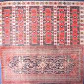 A Caucasian hand woven wool rug  in the Karabagh