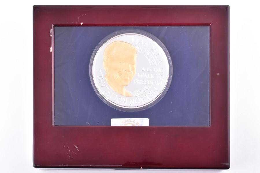 A Mint of Norway 2010 issued Nelson Mandela large proof