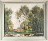 John Noble Barlow (1861-1917) English 'Spring