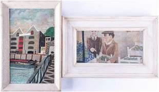 †Alfred Daniels (1924-2015) British 'Bridge Over the