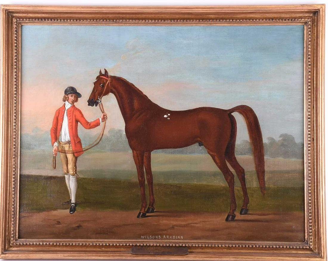 T. Spencer, 'Wilson's Arabian', oil on canvas, with