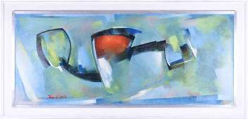 H Sutton 20th century contemporary Abstract signed