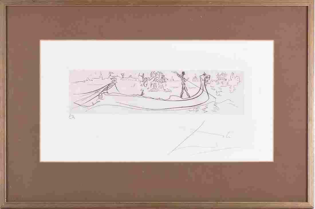 Attributed to Salvador Dali (1904-1989) Spanish, '