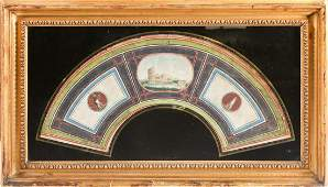 Early 19th century Italian school, a Grand Tour style