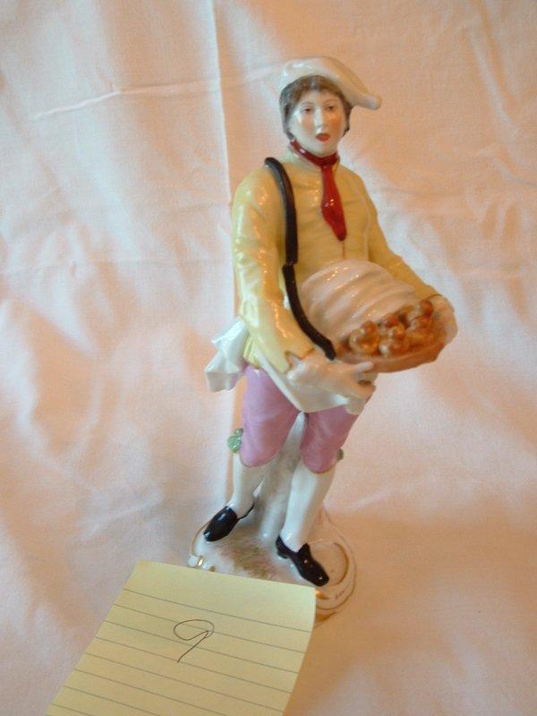 1009: Meissen figurine (Baker)