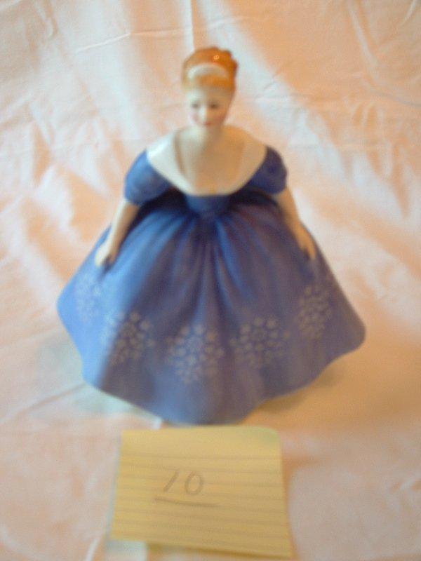 1010: Royal Daulton figurine (Nina)