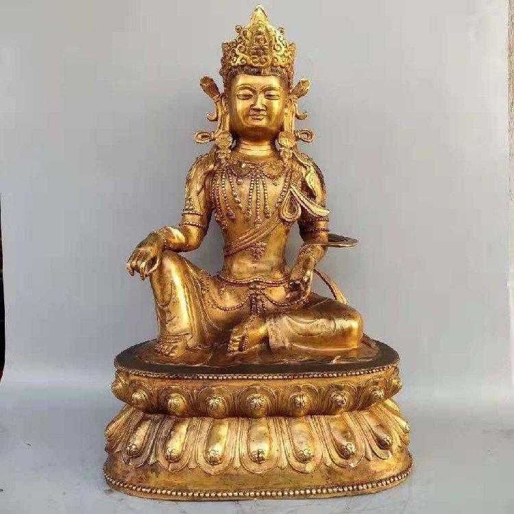 The Buddha Statue of Tan Jin -Qing Dynasty