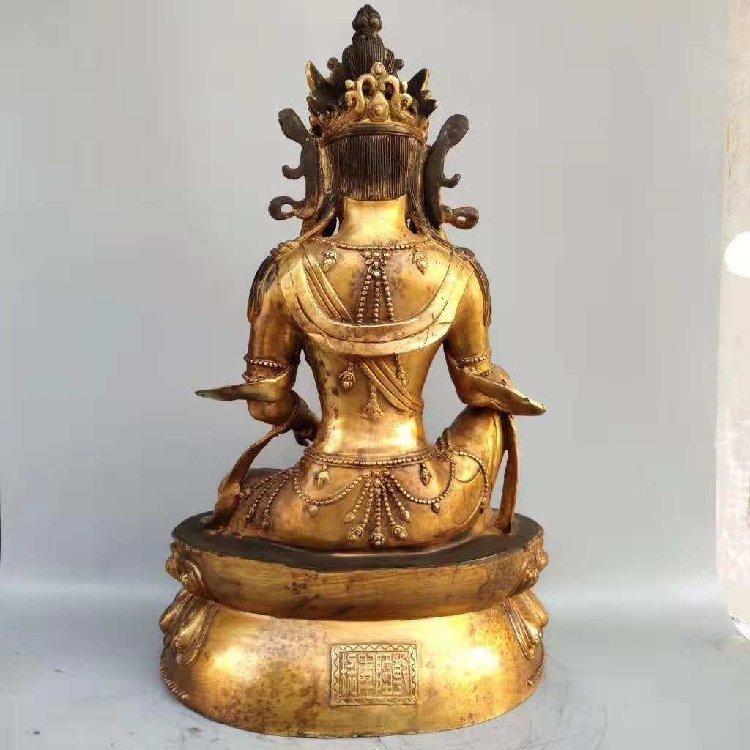 The Buddha Statue of Tan Jin -Qing Dynasty - 2