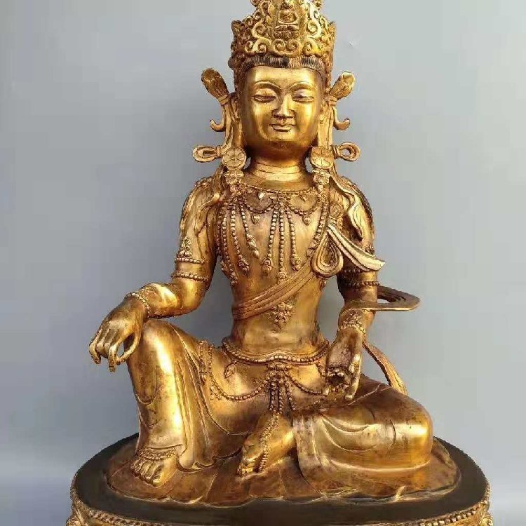 The Buddha Statue of Tan Jin -Qing Dynasty - 3